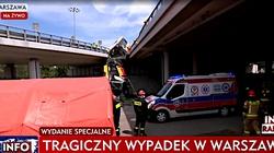 Wypadek w Warszawie. ,,Kierowca był pod wpływem narkotyków'' - miniaturka