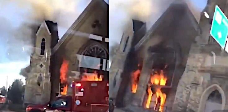 Kolejny kościół stanął w płomieniach! Tym razem w USA - zdjęcie