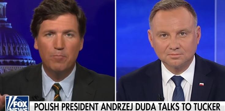Prezydent Duda w Fox News: Jestem praktykującym chrześcijaninem, modlę się i nie wstydzę się tego - zdjęcie
