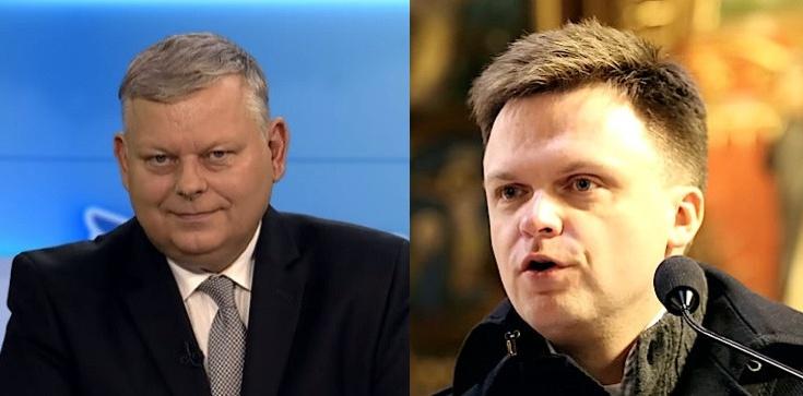 Marek Suski: 50 twarzy Szymona Hołowni - zdjęcie
