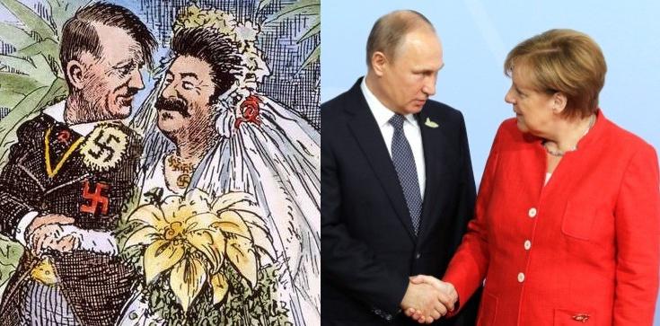 Relacje Niemiec i Rosji przypominają obecnie pakt Ribbentrop-Mołotow - zdjęcie