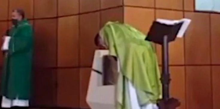 Kolumbia: Po mistycznym przeżyciu ksiądz ogłosił, że Komunia będzie przyjmowana tylko do ust i na kolanach - zdjęcie