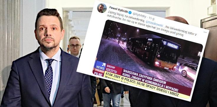 Zbigniew Kuźmiuk: Prezydent-awaria odśnieża Warszawę - zdjęcie
