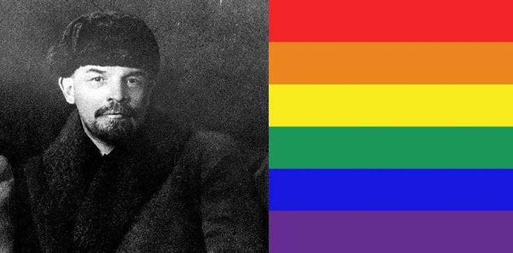 Rozkoszna dupa Lenina. Bolszewickie korzenie homorewolucji - zdjęcie