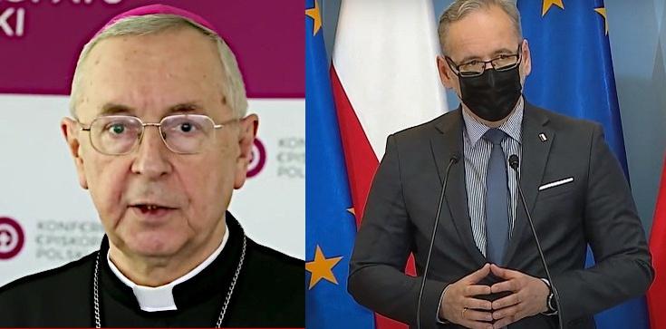 Szczepionki: Minister Niedzielski dziękuje abp. Gądeckiemu - zdjęcie