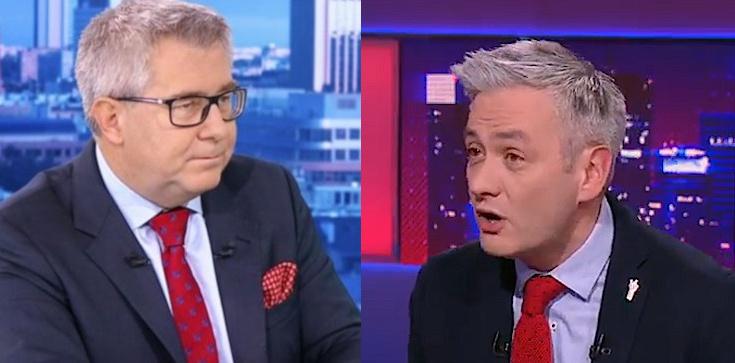 Biedroń: Ryszard Czarnecki kłamie. Europoseł PiS pokazuje maila i grozi pozwem! - zdjęcie