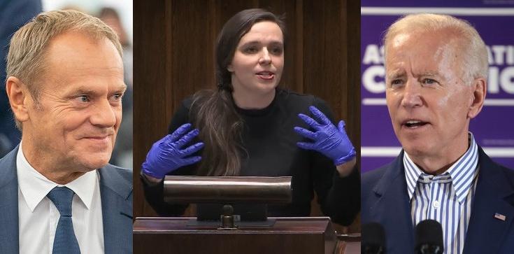 Grunt to powaga w polityce! ,,Oscary'' Klaudii Jachiry: Jeden powędrował do Tuska, drugi do Bidena - zdjęcie