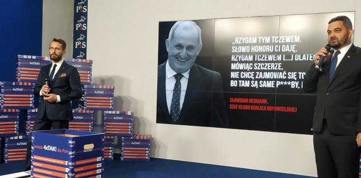 PiS do Kidawy-Błońskiej i Schetyny: Podpisujecie się pod tym, co mówił Neumann? - zdjęcie