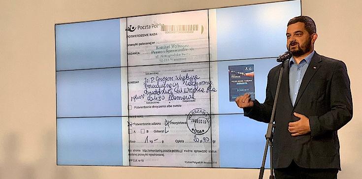 PiS wysyła Schetynie swój program. ,,Grzegorzu, a gdzie program KO?'' - zdjęcie