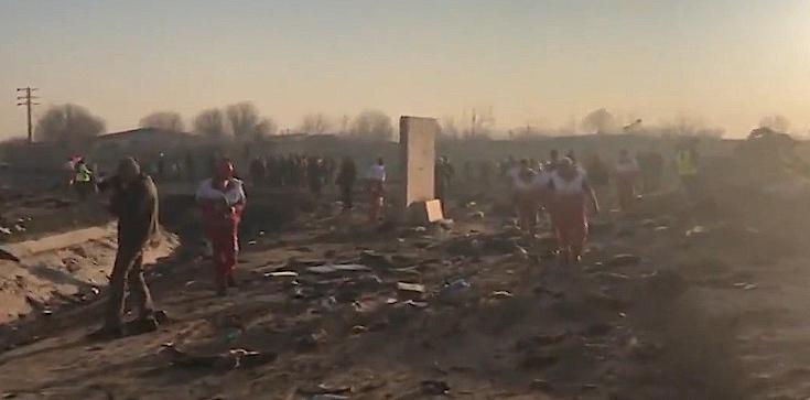 Katastrofa ukraińskiego samolotu w Iranie. Wśród ofiar nie ma Polaków - zdjęcie