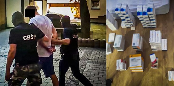 Cela Plus: Mafia lekowa rozbita. 4 osoby w rękach policji - zdjęcie