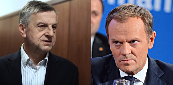 Prof. Zybertowicz o Tusku: Nie ma odwagi wrócić do Polski. Jest za miękki na politykę - zdjęcie