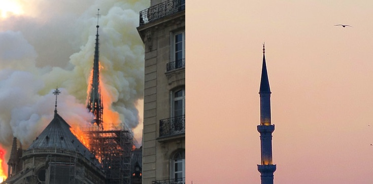 Iglicę Notre-Dame zastąpi minaret?! - zdjęcie