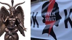 Globalny zakon Szatana popiera proaborcyjny Strajk Kobiet - miniaturka