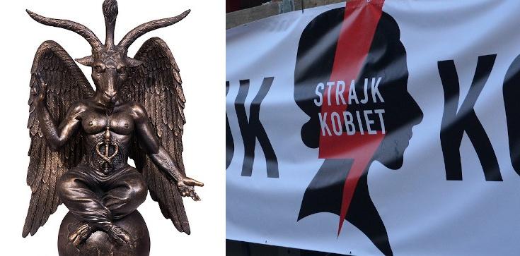 Globalny zakon Szatana popiera proaborcyjny Strajk Kobiet - zdjęcie