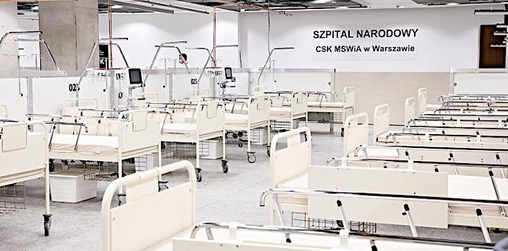 Spółki skarbu państwa zbudują kolejne szpitale tymczasowe. Znamy szczegóły - zdjęcie