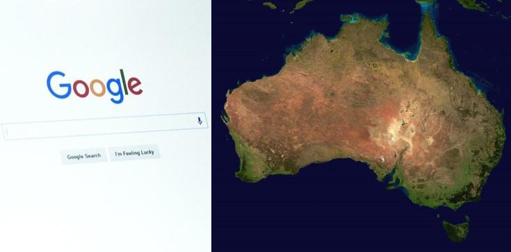 Google grozi Australii swoim ,,atomowym guzikiem'' - zdjęcie