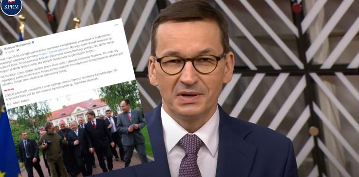 Początki PiS. Premier przypomina o okrągłej rocznicy: To był pierwszy krok... - zdjęcie