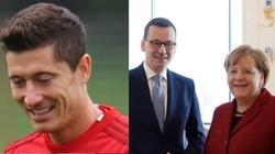 Lewandowski zagra na Wembley. Pomogła rozmowa premiera Morawieckiego z kanclerz Merkel - miniaturka