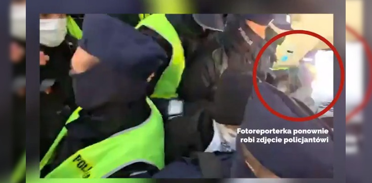 Dlaczego policja zatrzymała fotoreporterkę GW? Zobacz nagranie! - zdjęcie