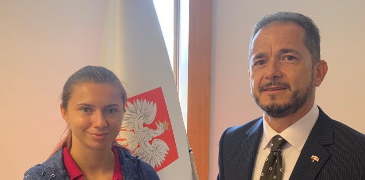 Ambasador RP rozmawiał z Cimanouską. Jeszcze dziś wyleci do Polski - zdjęcie