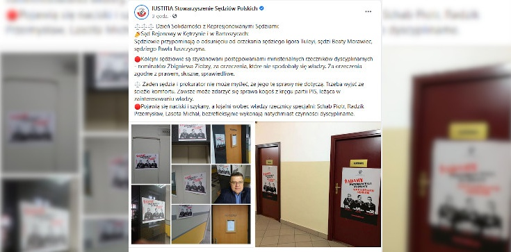 Kasta basta: Cyrk w sądach - konkurs na dekoracje z okazji ,,dnia solidarności'' z sędzią Juszczyszynem - zdjęcie