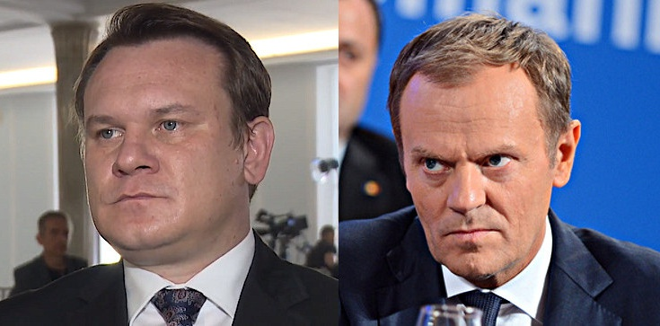 ,,Hołd tuski''. Tarczyński mocno o sobotnim przemówieniu - zdjęcie
