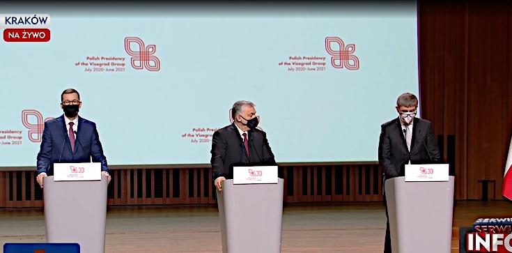 ,,Powróciliśmy do Europy na miejsce, które nam się należało''. Premierzy państw V4 podpisali deklarację - zdjęcie
