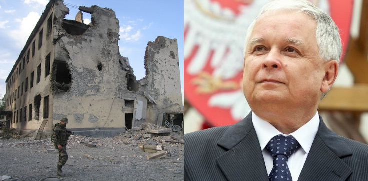 Dziś mija 12 lat od rosyjskiej agresji na Gruzję. Nie zapominajmy o słowach śp. Lecha Kaczyńskiego! - zdjęcie