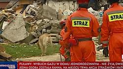 Potężna eksplozja w Puławach! Zawalił się dom, nie żyje małżeństwo - miniaturka