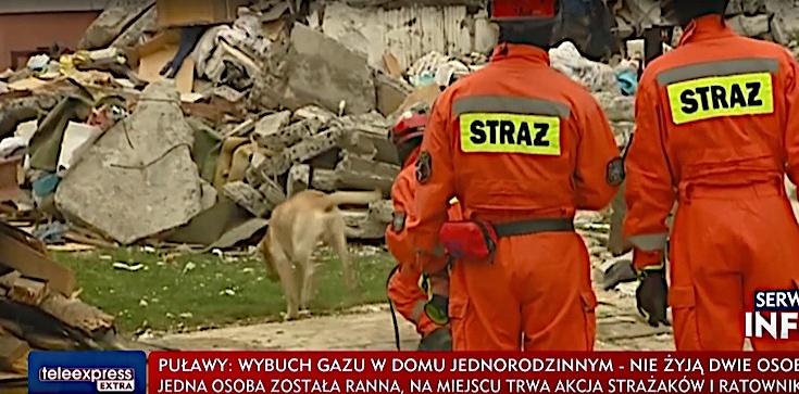 Potężna eksplozja w Puławach! Zawalił się dom, nie żyje małżeństwo - zdjęcie