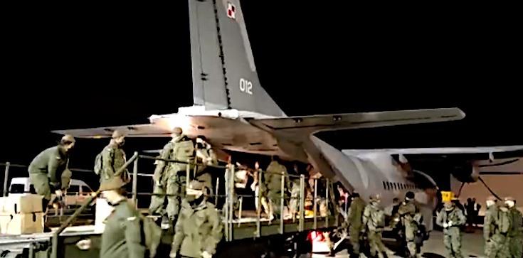 Koniec operacji ,,Zumbach''. Polscy żołnierze wrócili z Wielkiej Brytanii - zdjęcie