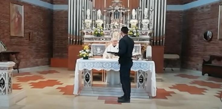 Policjant we Włoszech zakłócił Mszę świętą. Ksiądz nie ustąpił - zdjęcie