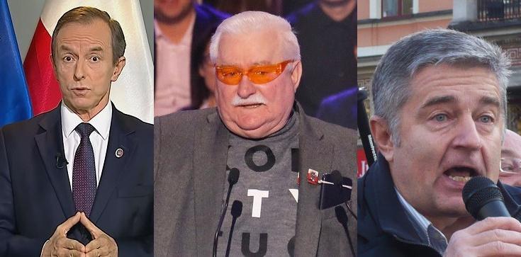 Żenujące. Grodzki, Wałęsa i Frasyniuk ,,świętują'', atakując PiS. ,,To my stoimy po dobrej stronie!'' - zdjęcie