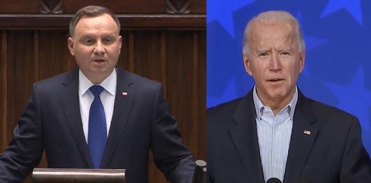 K. Szczerski: Prezydent pogratuluje Bidenowi i zaprosi go do Polski - zdjęcie