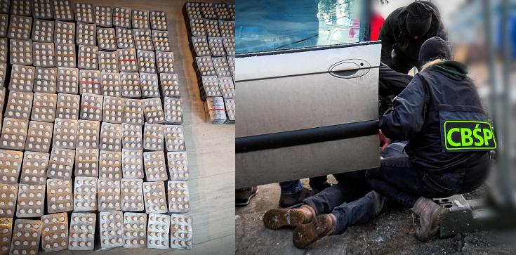 Cela plus: Handlowali podrabianymi lekami na wielką skalę. 13 osób w rękach CBŚP - zdjęcie