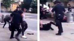 Z internetu: Szokująca agresja policjantów w USA - miniaturka