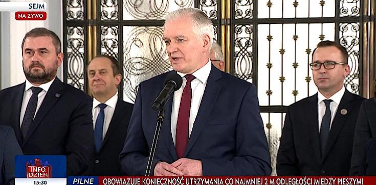 Jarosław Gowin podał się do dymisji. Porozumienie pozostaje częścią Zjednoczonej Prawicy - zdjęcie