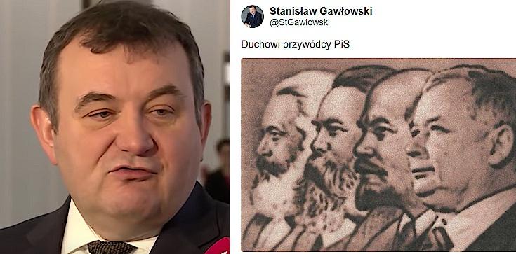 ,,Duchowi przywódcy PiS''. Obrzydliwy wpis Gawłowskiego! - zdjęcie