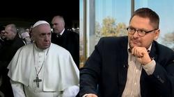 Nerwowa reakcja papieża. Tomasz Terlikowski: Będę bronił Franciszka - miniaturka
