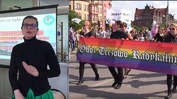 Dulkiewicz pod tęczową flagą, a przeciw nim 23 kontrmanifestacje - miniaturka