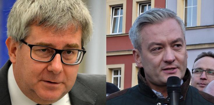 Wspólne oświadczenie Czarneckiego i Biedronia. Chodzi o Białoruś - zdjęcie