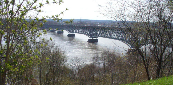 22-latek skoczył z mostu do Wisły, policjanci uratowali mu życie - zdjęcie