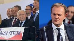 Jarosław Kaczyński w Białymstoku. Ależ dostało się Tuskowi! - miniaturka