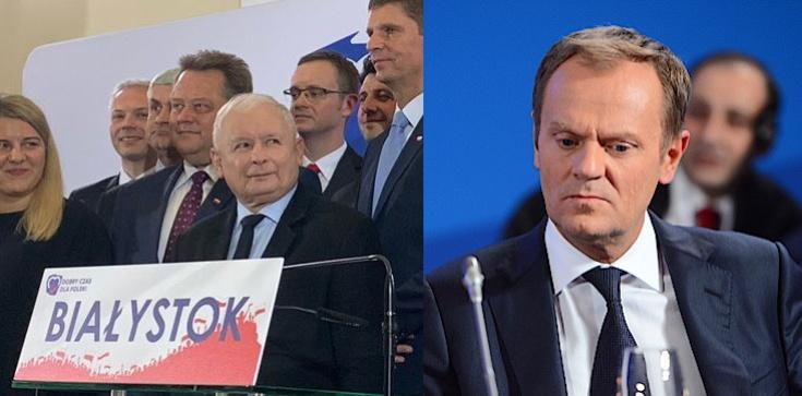 Jarosław Kaczyński w Białymstoku. Ależ dostało się Tuskowi! - zdjęcie