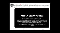 Protest mediów. ,,Onet, TVN et consortes mogłyby już prowadzić protest do końca świata'' - miniaturka