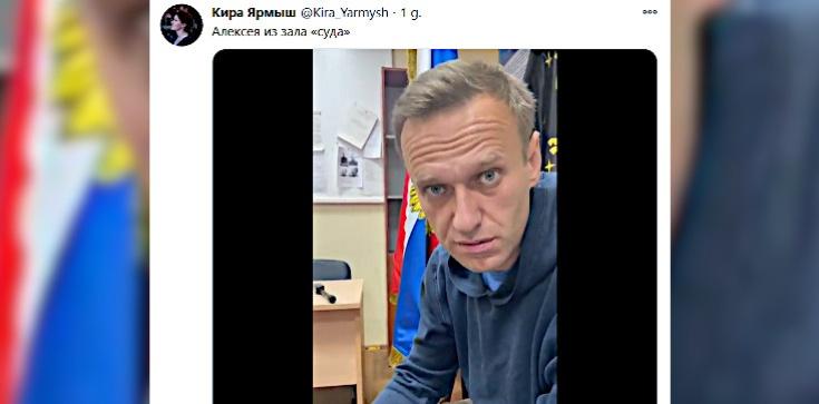 ,,Nie rozumiem, co się dzieje''. Jest nagranie Nawalnego  - zdjęcie