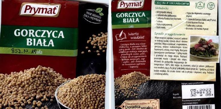 UWAGA!!! Salmonella w przyprawie popularnej marki - zdjęcie
