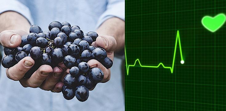Jedz winogrona - podziękuje ci nie tylko serce! - zdjęcie