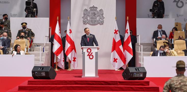 Prezydent Duda: Gruzini, czekamy na Was w NATO i UE! - zdjęcie